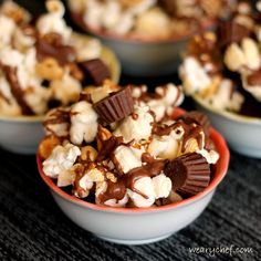Reese's Gameday Pep-Corn: An irresistible chocolate and peanut butter treat!