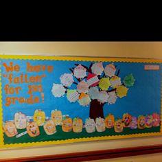 Cute fall b.board idea