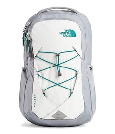 Women's The North Face Jester Backpack - Mid Grey/Tin Grey Back to School Hiking Backpack, Laptop Backpack, Travel Backpack, Diaper Backpack, Backpack Bags, North Face Girls, North Face Women, The North Face, Accessories