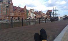 I v Polsku může být krásně, toto je Gdaňsk...