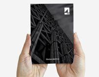 Erasmusketch • an useful handbook of Lisbon • IADE by Dario Gracceva, via Behance