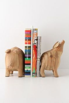 potbelly bookends.