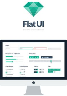 Flat UI Free - PSD User Interface Kit