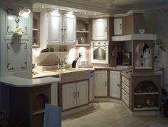 #kitchen #provencal #cucine #provenzali Kitchen Island, Kitchen Cabinets, Love Home, Sweet Home, Shabby, New Homes, House, Home Decor, Island Kitchen