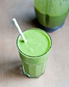 A Green Smoothie (very Healthy Ingredients) :  Breakfast Smoothie Recipes That'll Rev Up Your Morning (a Number of Recipes)  #Smoothies