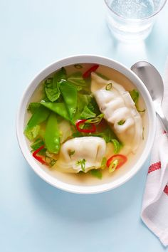 Ginger Dumpling Soup - WomansDay.com