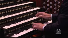 """Tabernacle Organist Richard Elliott and the Orchestra at Temple Square perform """"Hot Pipes"""" (Movement no. 4 - Jazz Concerto for Organ and Orchestra) from the ..."""