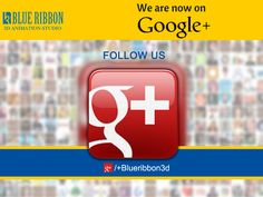 Blue Ribbon 3D Animation Studio now on #GooglePlus Follow us at plus.google.com/+Blueribbon3d