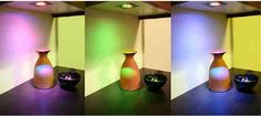 Color Changing LED Light Bulb with Remote Control 16 Different Colors and 4 Different Modes with Dimmer.