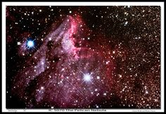 Pelican nebula taken from Merritt BC Can.