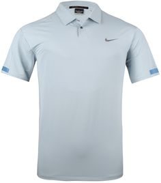 TIGER WOODS SATURATED COLOR POLO LT ARMORY BLUE - AW13