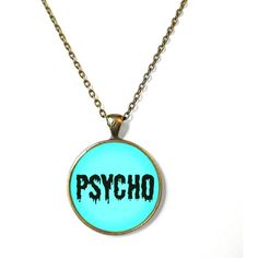 90s Style Soft Grunge Pastel Goth Nu Goth Soft Ghetto Drippy Psycho... ($15) ❤ liked on Polyvore featuring jewelry, necklaces, chain jewelry, gothic pendant, chain necklace, goth necklace and pendant jewelry