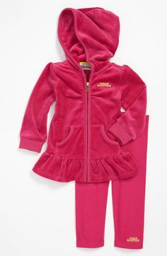 Juicy Couture Hoodie & Leggings (Infant) available at #Nordstrom