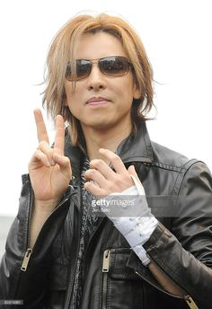 Musician/ producer Yoshiki of X JAPAN attends a press conference at the National Yoyogi Gymnasium Olympic Plaza on September 15, 2008 in Tokyo, Japan.