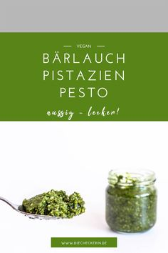 Mein Rezept für ein schnelles und nussig leckeres Bärlauch Pesto