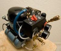 DIY Mini Silent Compressor