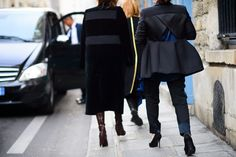 On the Streets of Paris Fashion Week Fall 2015 - Paris Fashion Week Fall 2015 Street Style Day 6-Wmag