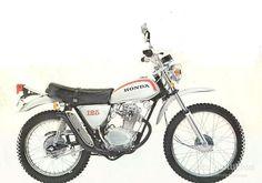 HONDA SL 125 - 1971, 1972, 1973