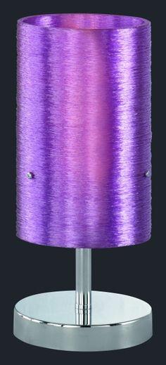 5939 - TRIO - dotyková stolová lampa - purpurová