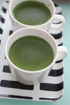 Matcha Soy Milk Custard Pudding in a Mug #OYSHEE #japanese