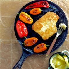Saganaki (Pan-Seared