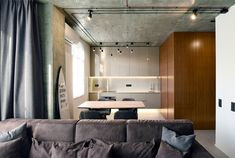 Small Apartment Interior Design by Oleg Kuiava