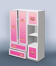 "Комплект ""Принцесса"" Shelving, Lockers, Locker Storage, Cabinet, Furniture, Home Decor, Shelves, Clothes Stand, Decoration Home"