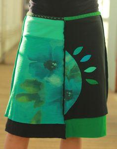 Flower burst!  jupitergirl.net t-shirt skirts