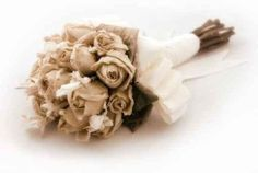 Dried Bouquet, all the flowers that I'll collect from him over the years used as my bouquet at my wedding.