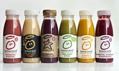 """This clever Innocent smoothie #packaging #branding just got ripped by #theGuardian calling it """"wackaging"""" commonly, food describing itself in the first person. Do you agree or not? PD"""