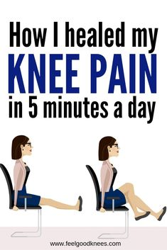 This technique will teach you how to get rid of knee pain in only 60 seconds per day! For free I will teach you how to naturally reduce pain and swelling so you can get on with your life. Don't be held back by joint pain any longer! Knee Osteoarthritis, Knee Arthritis, Rheumatoid Arthritis, Knee Swelling, Knee Strengthening Exercises, Knee Stretches, How To Strengthen Knees, Runners Knee, Knee Pain Relief