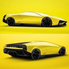 Lamborghini Pura SV - personal project - check it out the full project on my behance. #lamborghini #design #cardesign #carsketch #car…