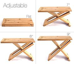 Squat Toilet Stool by Relaxx - Folding Bamboo Wood Adult Squatting Stools - Adjustable - The Original Foldable Bathroom Foot Stool (One Pair) - Transparent Anti-Slip Folding Furniture, Space Saving Furniture, Diy Furniture, Furniture Design, Folding Chairs, Diy Projects Plans, Small Wood Projects, Portable Stool, Toilet Stool