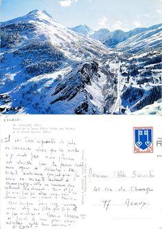 Valloire - Massif de la Sétaz, Vallée des Verneys et le Grand Galibier - 1966 (from http://mercipourlacarte.com/picture?/1713/)