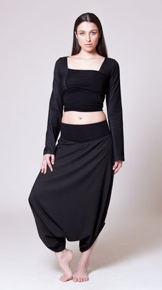Harem Skirt Pants