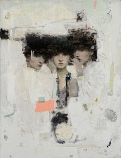 From Vail International Gallery, Ron Hicks, Conscious Conscience Oil, 53 × 39 in Painting People, Figure Painting, Russian Painting, Portrait Art, Portraits, Western Art, Gravure, Art Fair, Contemporary Paintings