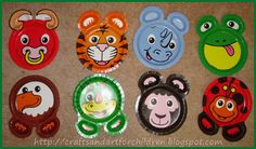 Jungle Safari Birthday Party - Artsy Momma & I like to take ZooPal plates put tape on them and hide them around ...