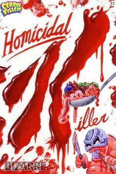 Cereal Killers ~ Homicidal Killer