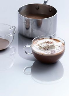 Grasshopper Hot Chocolate