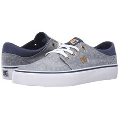 DC Trase TX SE Women's Skate Shoes ($50) ❤ liked on Polyvore featuring shoes, sneakers, skate shoes, canvas sneakers, low profile shoes, canvas shoes and low top canvas sneakers