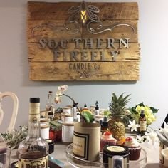 The more mess you make the more fun you have...right? Photo shoot success  #southernfirefly #southernfireflycandle #shoplocal #nashville #photography #metacake