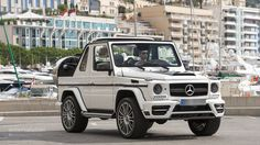 Mercedes-Benz G-Class Cabriolet Mercedes Auto, Mercedes G Wagon, Mercedes Benz G500, Mercedes Benz G Class, Lux Cars, Jeep Wrangler Rubicon, Modified Cars, Dream Cars, Convertible