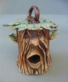 Sculpted Tree Man