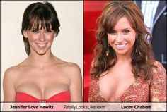 Jennifer Love Hewitt Totally Looks Like Lacey Chabert