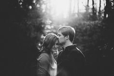 romantic forest engagement | Jen Yuson Photography