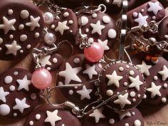 I Pan di Stelle di Life in Colour Accessori Handmade! #fimo #biscotti