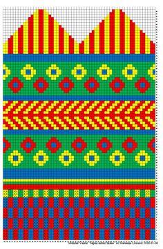 Mittens Pattern, Knit Mittens, Knitting Socks, Mitten Gloves, Craft Patterns, Knitting Patterns, Diagram Chart, Fair Isle Pattern, Fiber Art