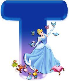 Tiana Disney, Princesa Disney, Disney Princess Birthday Party, Cinderella Party, Alphabet Art, Monogram Alphabet, Scrapbook Da Disney, Minnie Png, Alphabet Wallpaper
