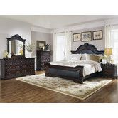 Found it at Wayfair - Panel Bedroom Collection