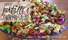 Copycat Recipe of Portillo's Chopped Salad | Christine Trevino